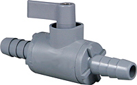 Two Way Plastic Ball Valves